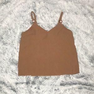 Topshop tilda ring camisole top